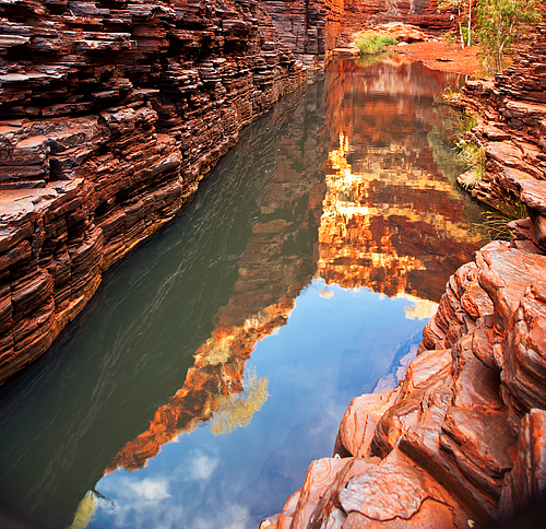 Weano Gorge Karijini Photo Art by Paul Theseira