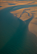 Willie Creek Aerial Photo Art by Paul Theseira
