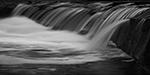 Noble Falls in B&W